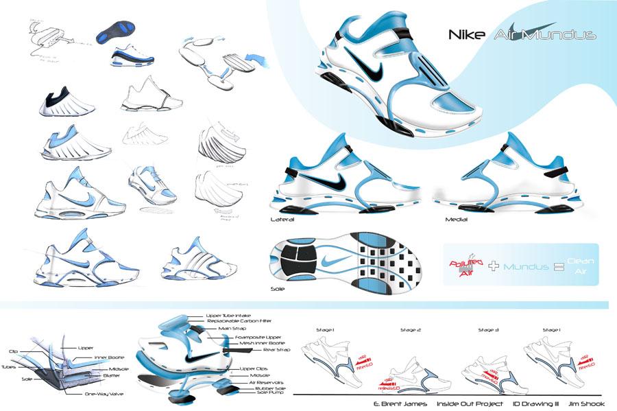 900x599 Nike Running Shoes Sketch Footwearpedia
