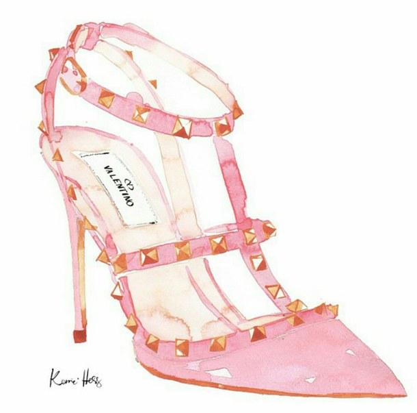 610x603 Croqui Sapatos