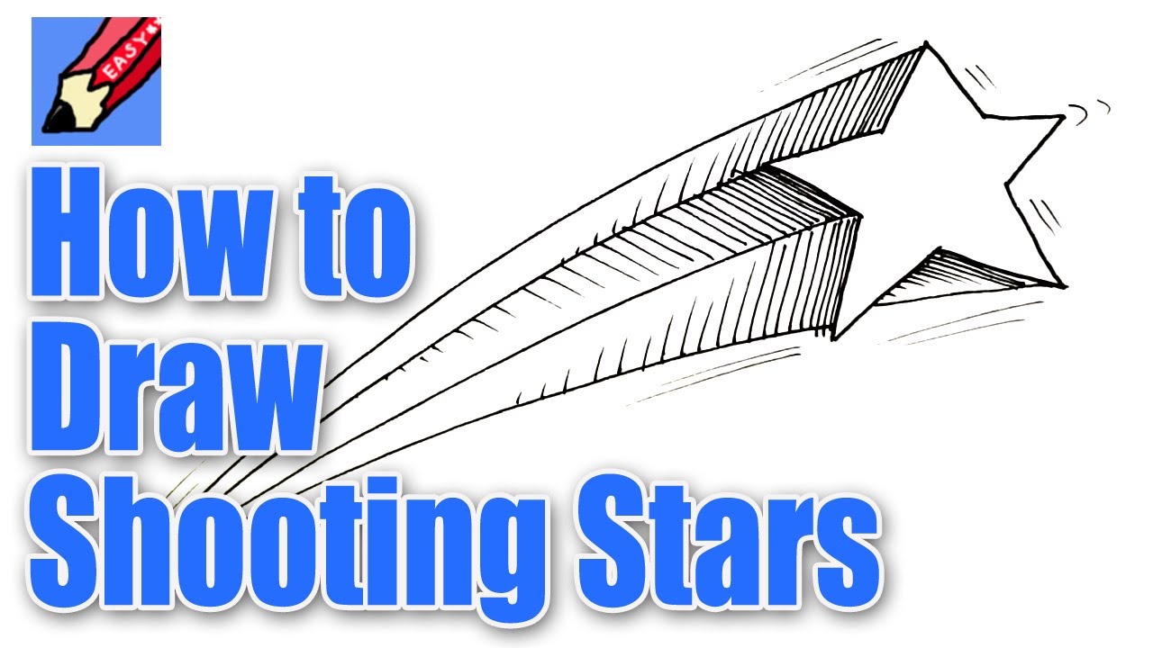 1280x720 How To Draw Shooting Stars