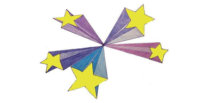 720x360 Shooting Star Drawing Archives