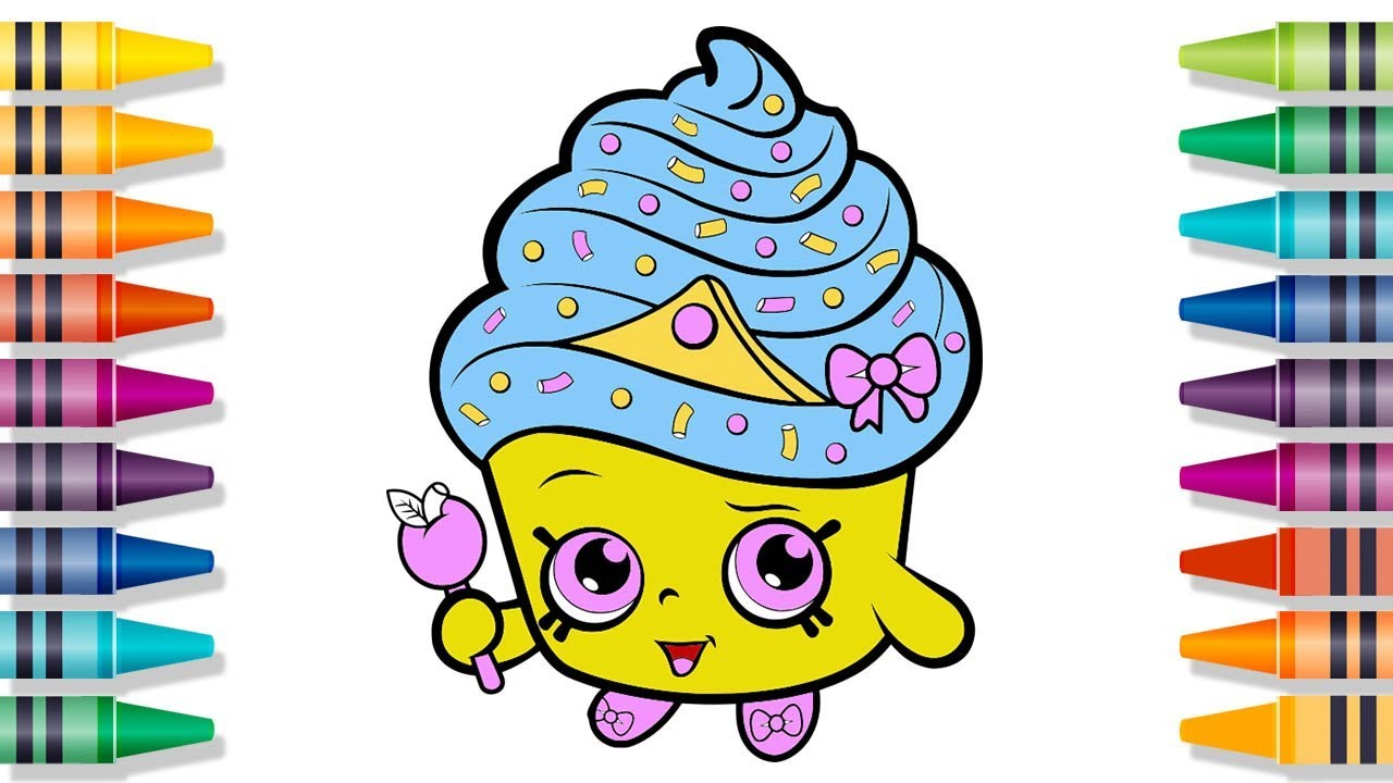 Shopkins Drawing Pages At Getdrawings Com Free For Personal Use