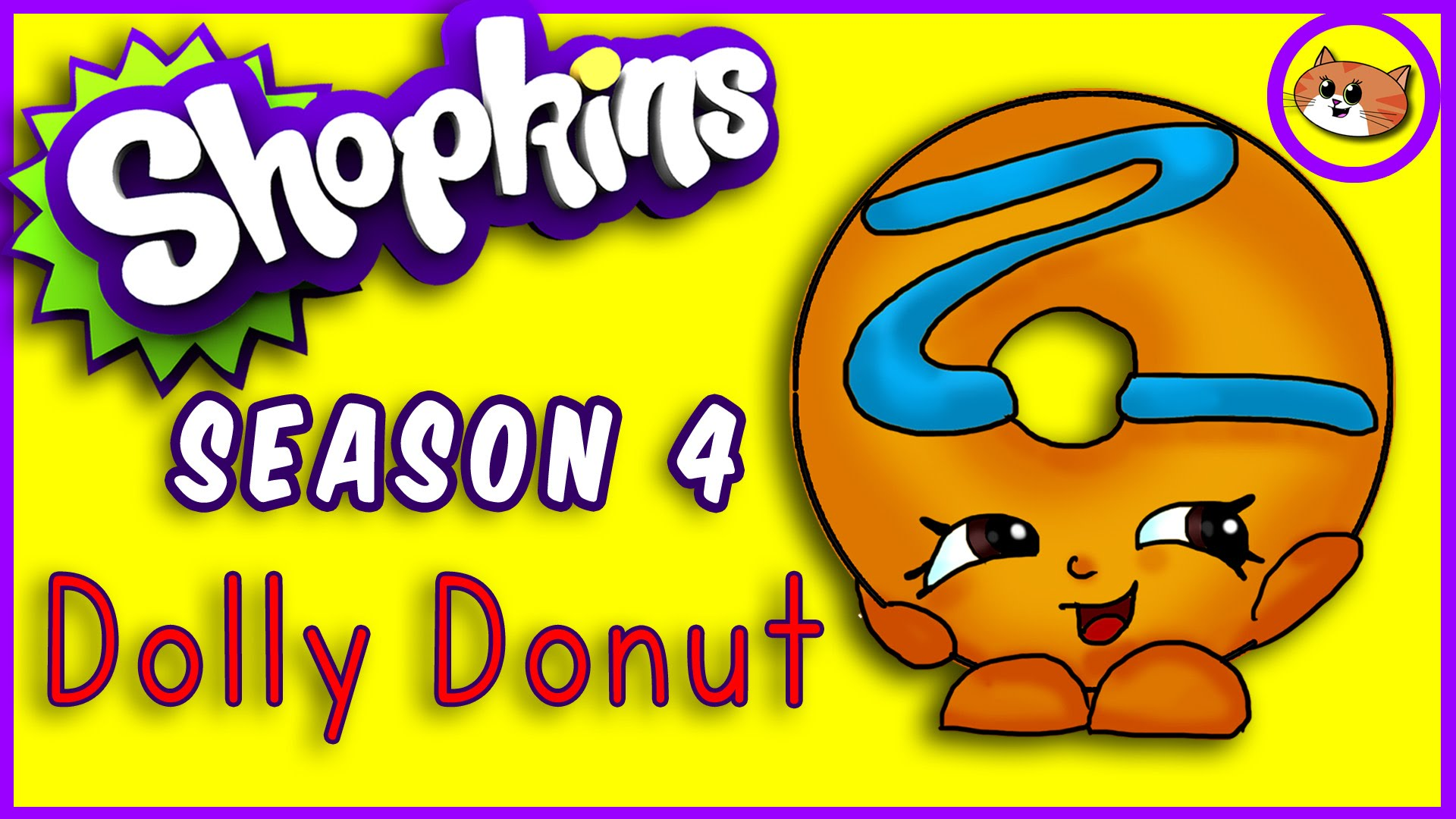 1920x1080 How To Draw Shopkins Season 4 Dolly Donut