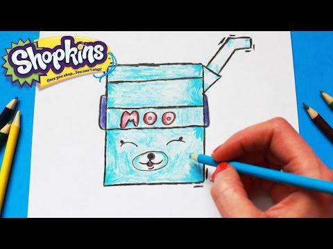 480x360 How To Draw Shopkins Season 4 Earring Twins Petkins Toy