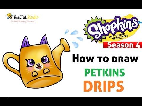 480x360 Shopkin World How To Draw Shopkins Season 4 Drips Petkins