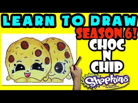 480x360 How To Draw Shopkins Season 6 Choc N Chip, Step By Step Season 6