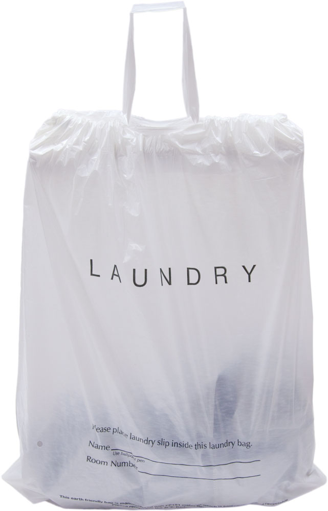 641x1000 Draw Tape Hotel Laundry Bags