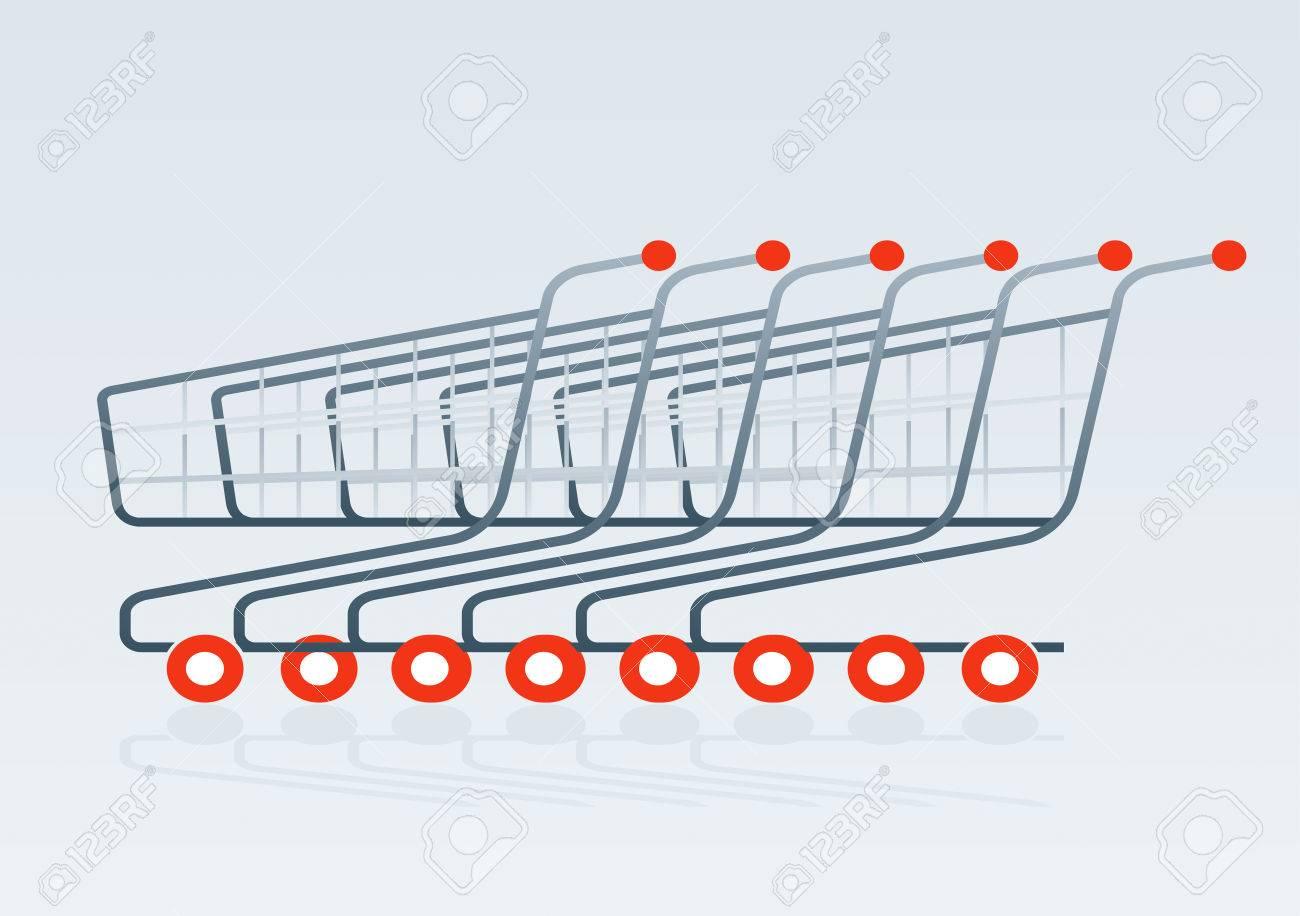 1300x916 Shopping Cart Drawing Royalty Free Cliparts, Vectors, And Stock