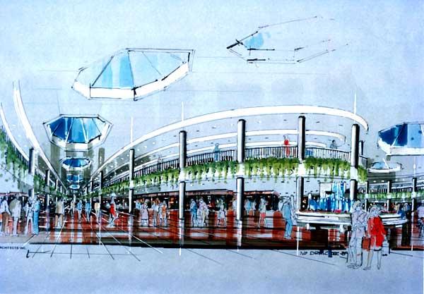 600x417 Landmark Architects Inc. Commercial Interior Design Shopping Mall