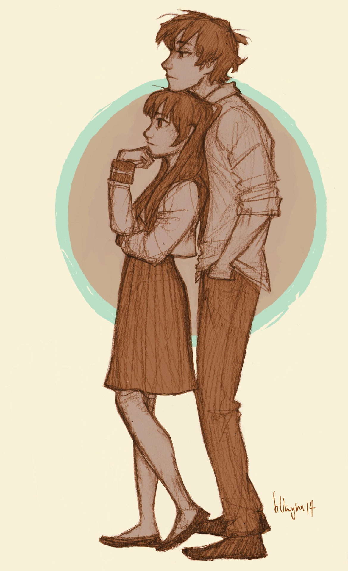 1169x1920 Boy Girl Couple Sketch Image Hug Of Sketch Of Short Girl