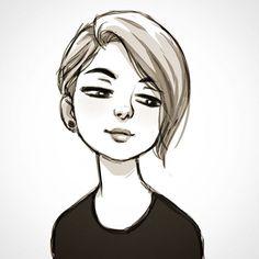 236x236 Ilustraciones De Luigi Lucarelli Luigi, Short Hair