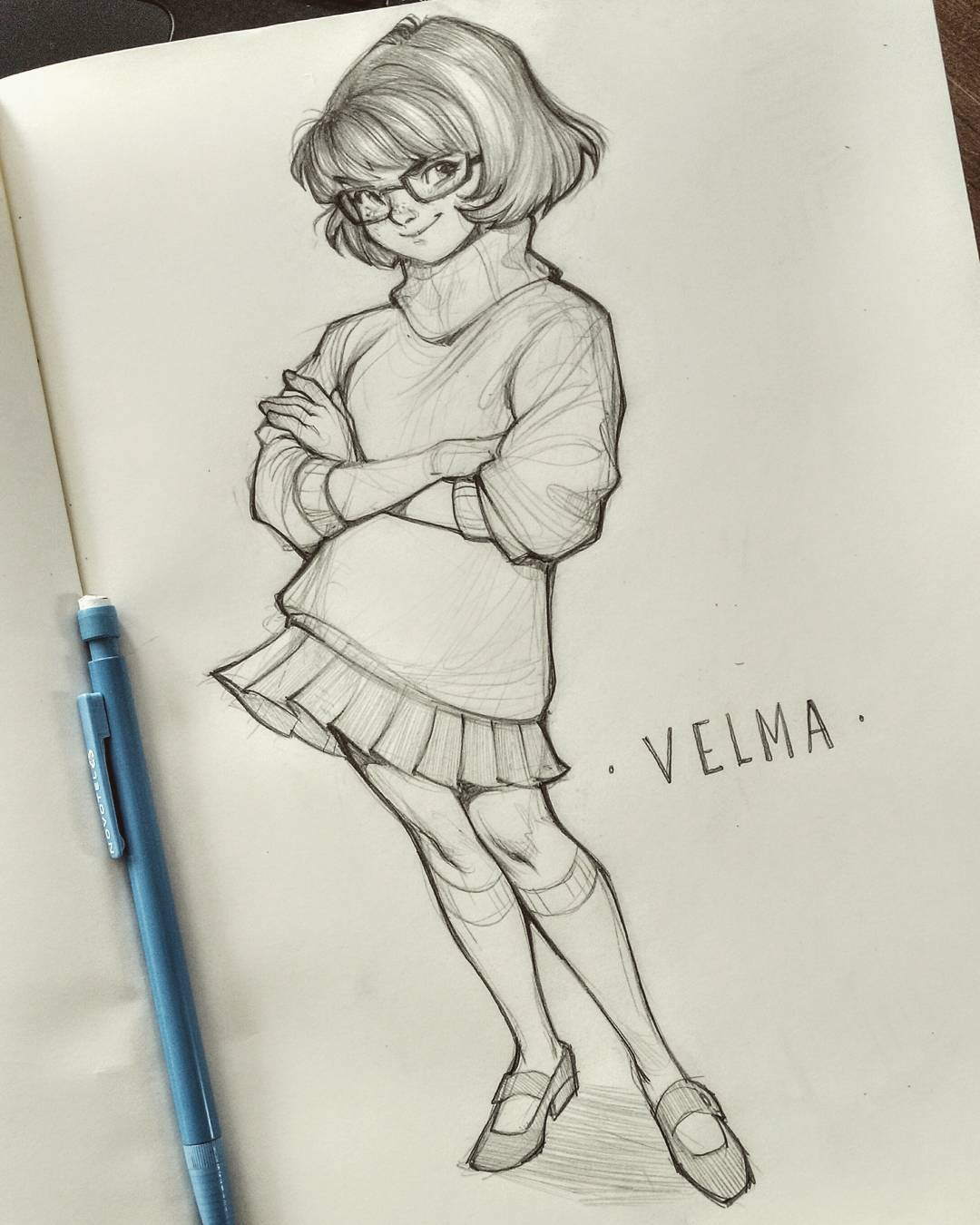 1080x1350 Lots Of People Draw Velma As Super Sexy, With A Super Tight
