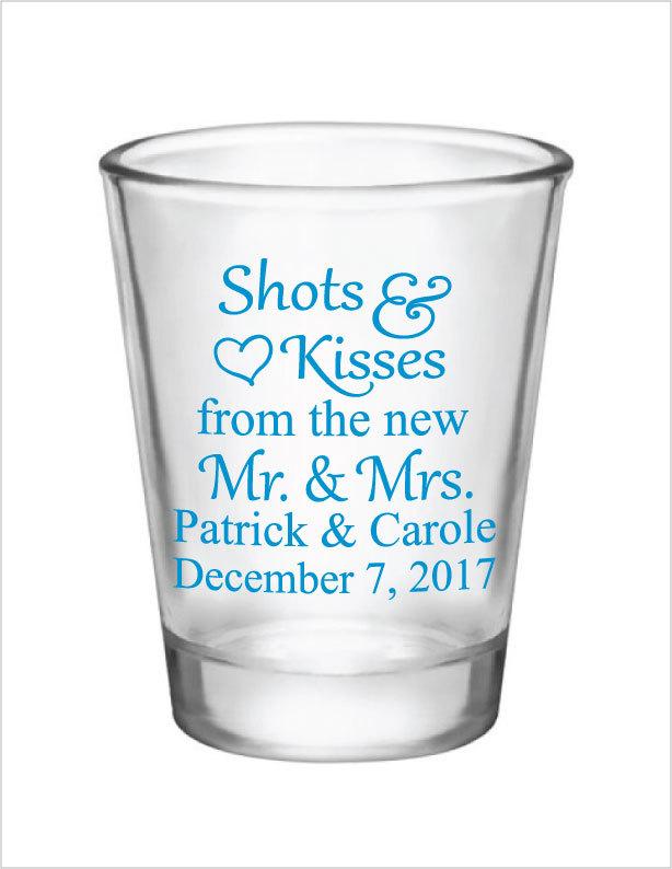 614x794 Wedding Favors Shot Glasses 1.75oz Glass Shot Glasses Shots