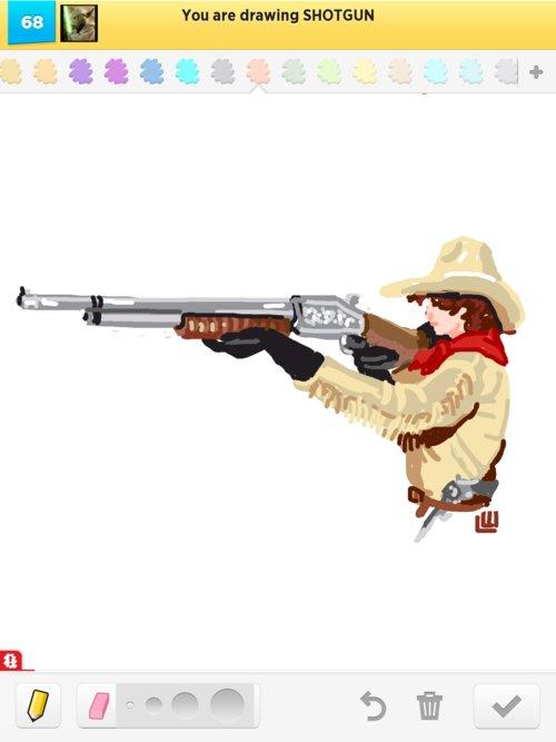 500x667 Shotgun Drawings
