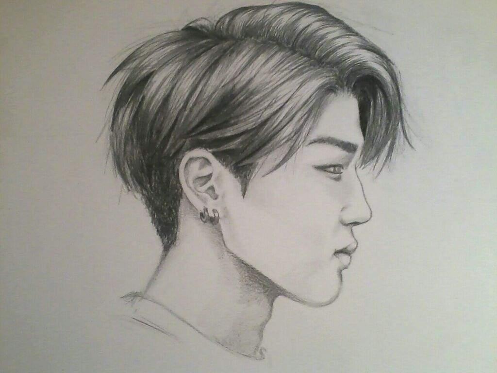 1024x768 Another Drawing (Bts Jimin) K Pop Amino