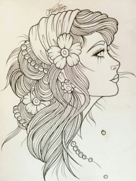 540x720 Gypsy Girl Tattoo Tattoo Love