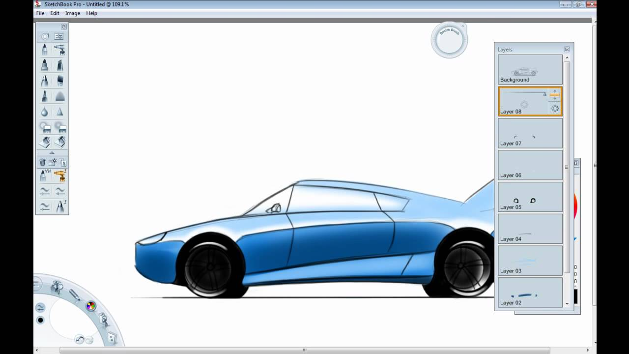 1280x720 Car Design Tutorial