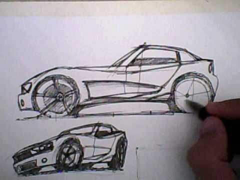 480x360 How To Draw A Car