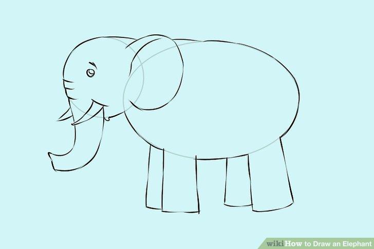 728x485 4 Ways To Draw An Elephant