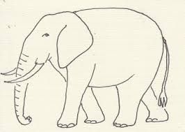 266x189 Image Result For Elephant Side View Drawing Elephant
