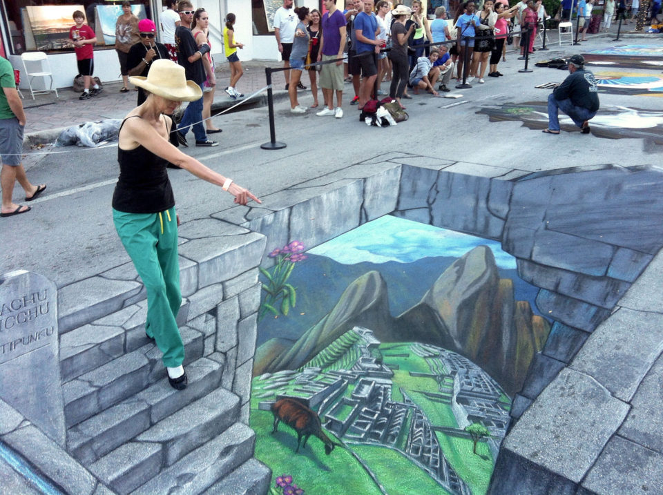 960x717 3d Sidewalk Art To Be Enjoyed By All