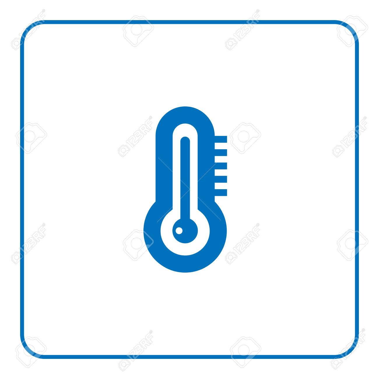 1300x1300 1 Of 25 Signs Forecast Weather Thermometer Drawing Icon. Web