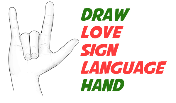 600x354 How To Draw Love Hands