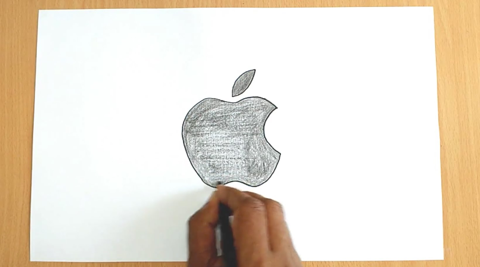 1640x912 How To Draw The Apple Logo
