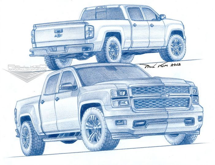 702x540 2014 Chevrolet Silverado Rendered By Artist Gm Authority