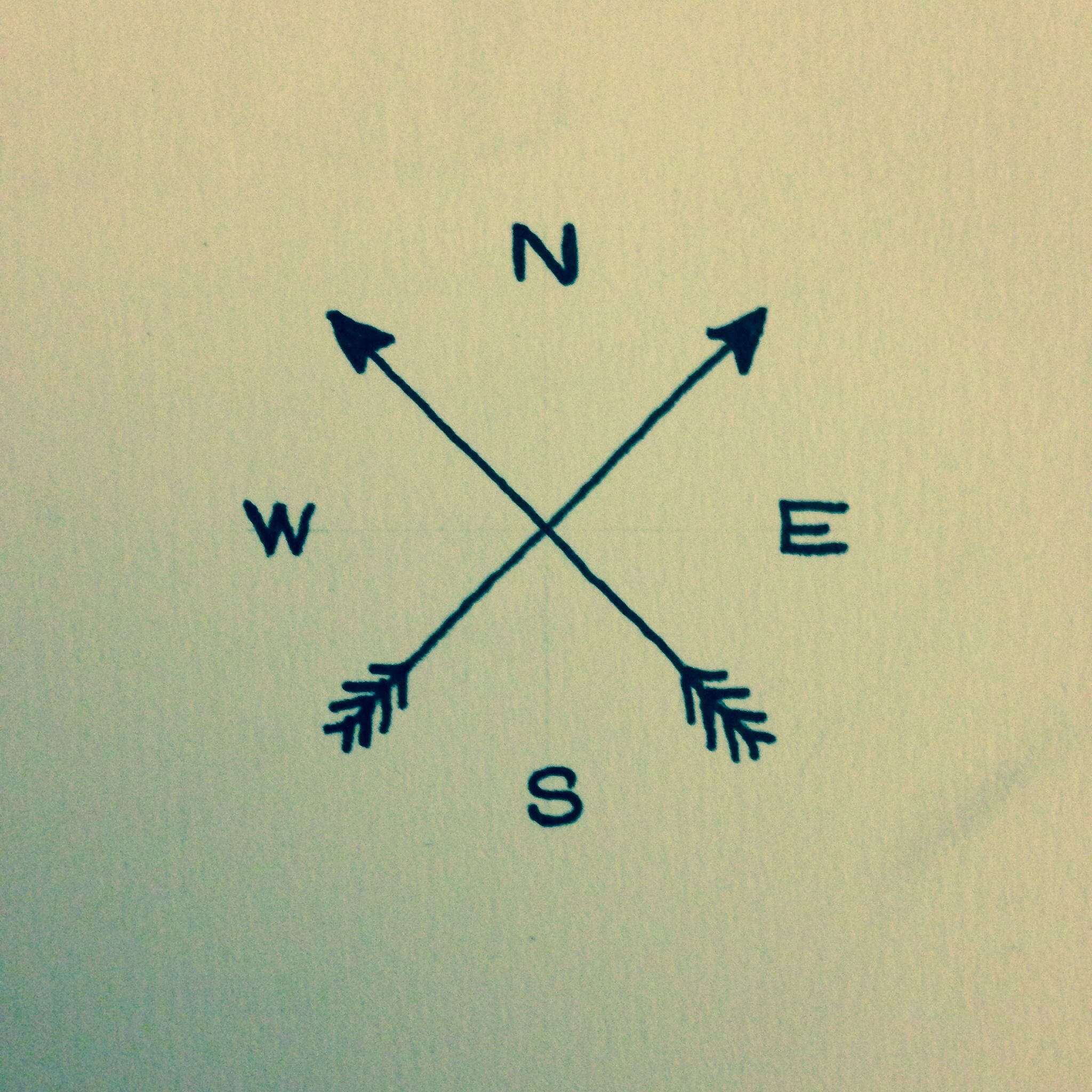 2048x2048 I Really Want A Simple Compass Tattoo Like This But I Have No Idea