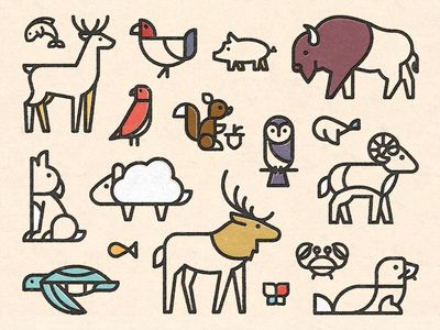 400x300 Animal Friends Animal, Icons And Illustrations