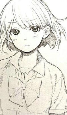 236x402 Anime Art Anime Girl. School Uniform. Seifuku