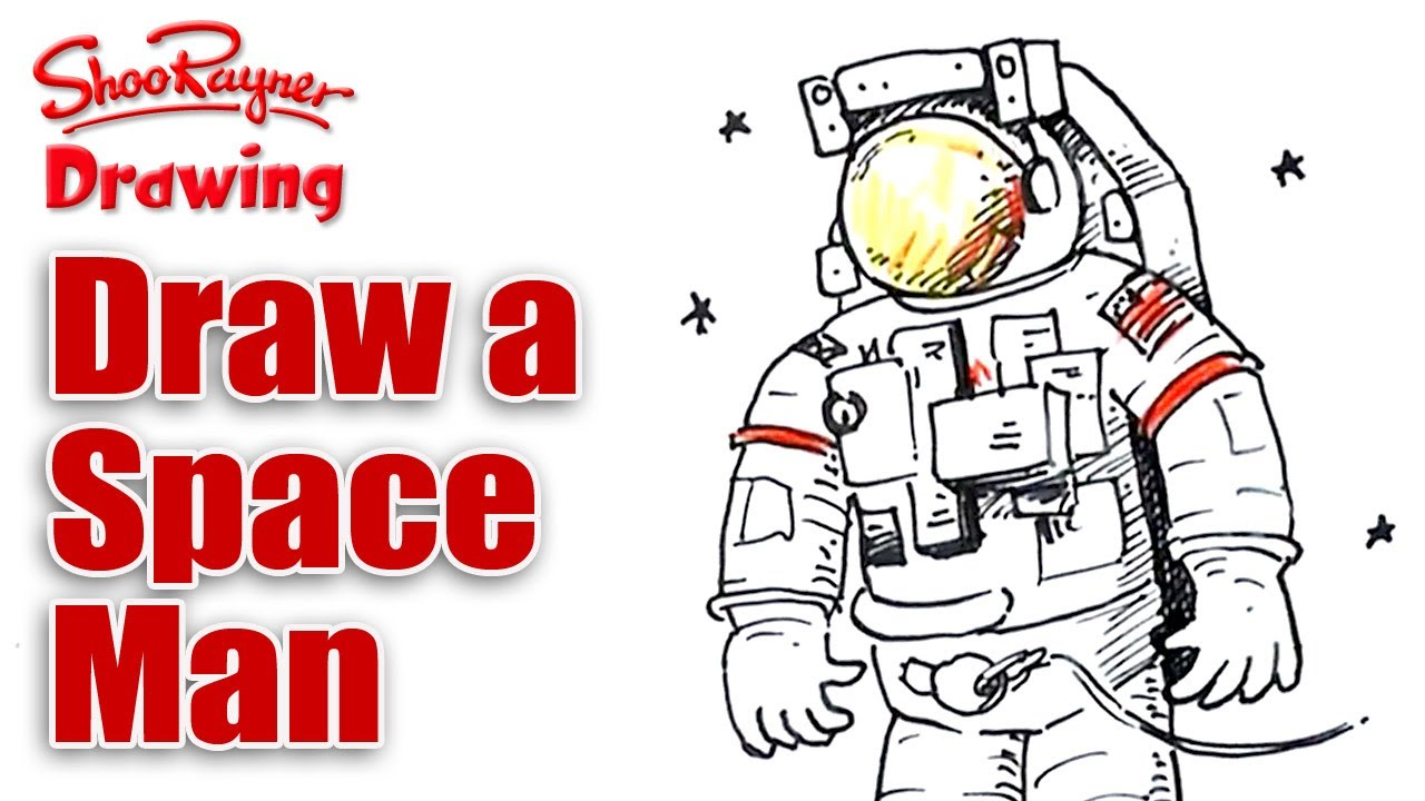 1280x720 How To Draw A Space Man