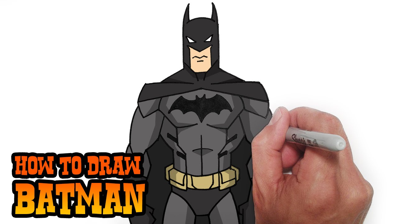 Simple Batman Drawing At Getdrawings Com Free For Personal Use