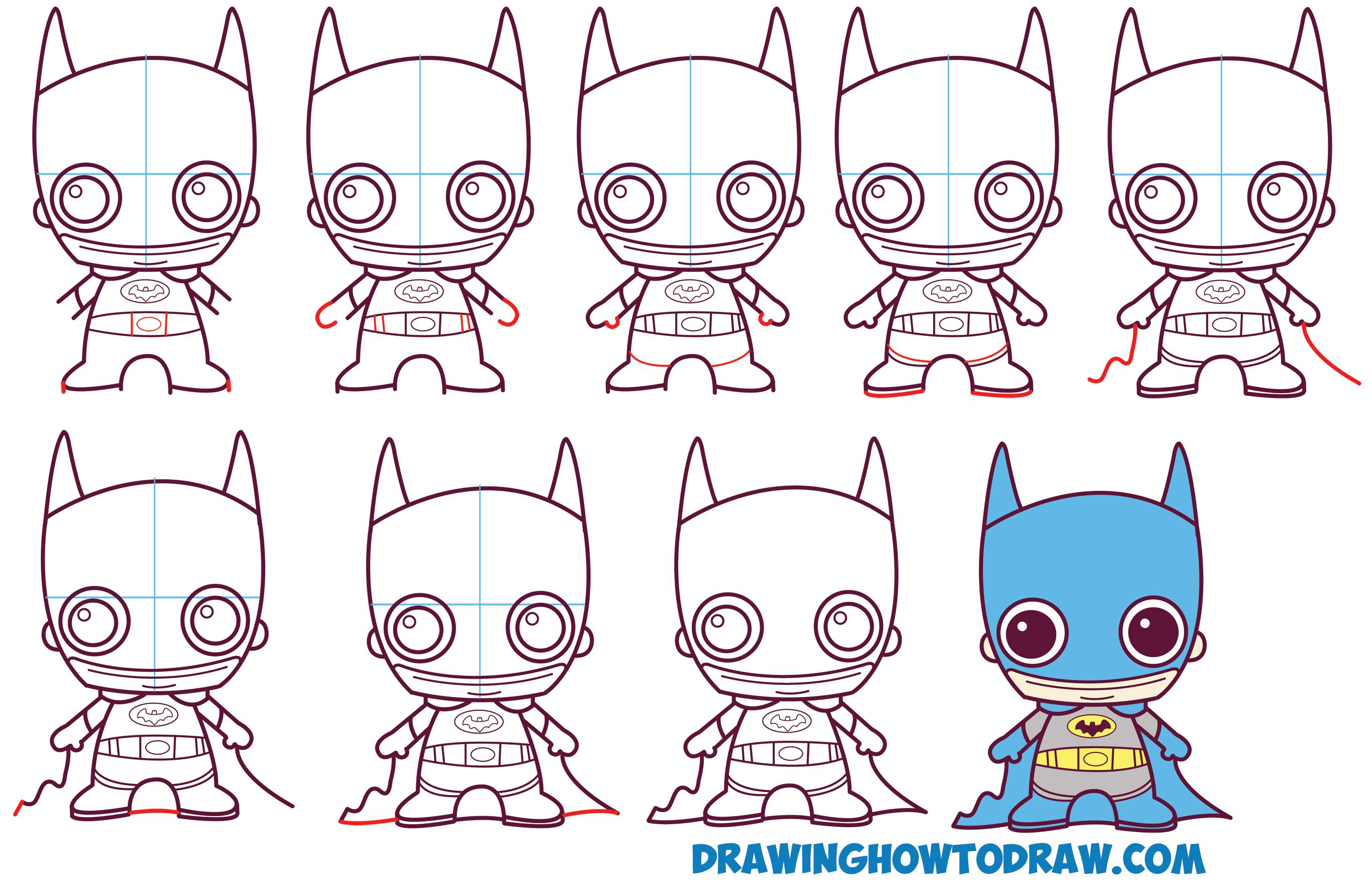 Simple Batman Drawing at GetDrawings | Free download