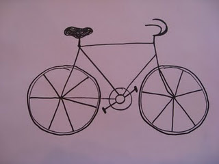 320x240 Simple Steps For Elementary Kids To Draw A Bicycle. Class Art