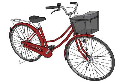 400x275 3d Bicycle Model Sketchup Bicycle Model Sketchup 3d Models Free