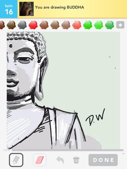 500x667 Buddha Drawings