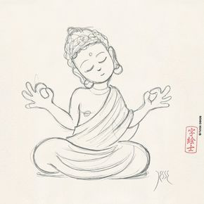 290x290 Image Result For Simple Buddha Head Paintings Traditional Wall