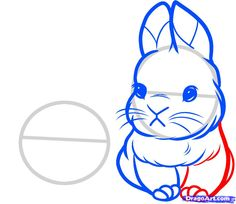 Simple Bunny Face Drawing At Getdrawings Com Free For Personal Use