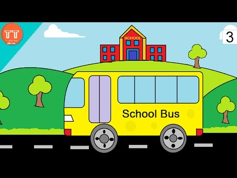 480x360 How To Draw School And Bus In Ms Paint
