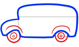302x181 How To Draw How To Draw A Bus For Kids