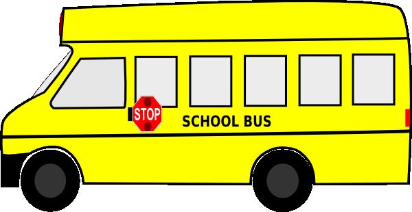600x310 School Bus Clip Art