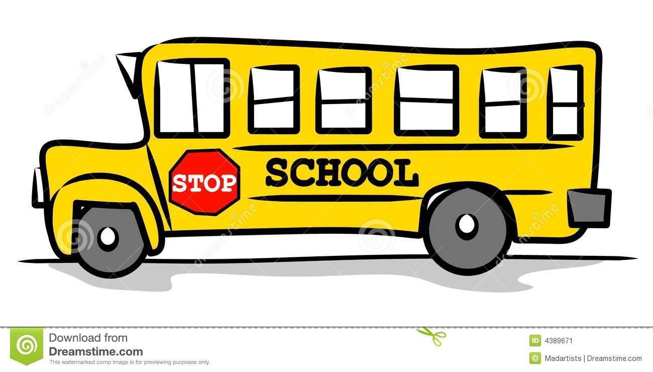 1300x740 School Bus Sign Clipart