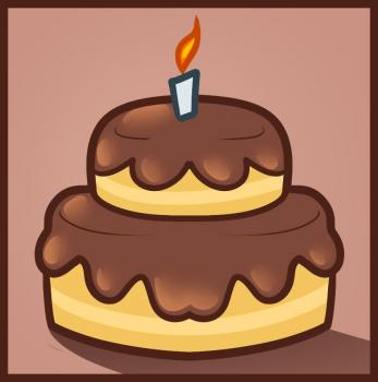347x350 How To Draw How To Draw A Cake For Kids