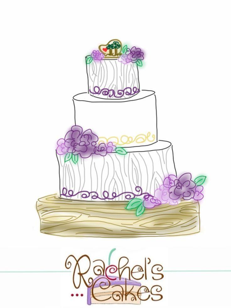 736x981 Wedding Cake Wedding Cakes Wedding Cake Drawing Best Of Simple