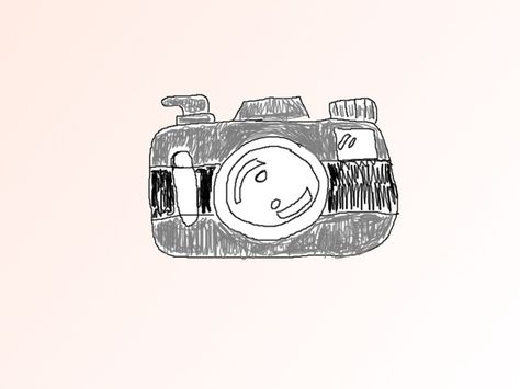 474x355 Just A Simple Camera I Drew, Coloring Is A Bit Off, But I Am Proud