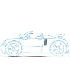 236x236 Ferrari 1961 Dessins De Voitures. Car Drawing.