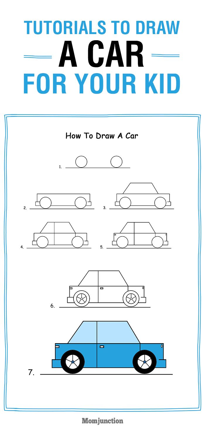 700x1467 How To Draw A Car Step By Step For Kids Learn Drawing, Super