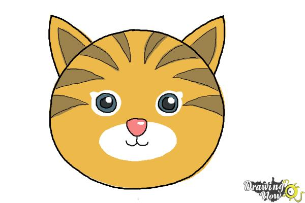 Simple cat drawing at getdrawings free for personal use simple 600x400 how to draw a cat face altavistaventures Image collections