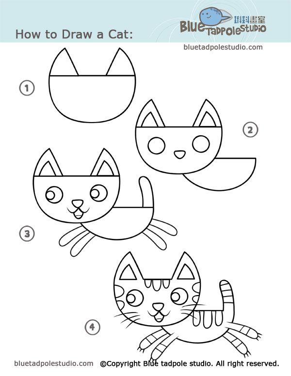 600x776 Dessin Par Un Fichier D'Autonomie Cat, Drawings